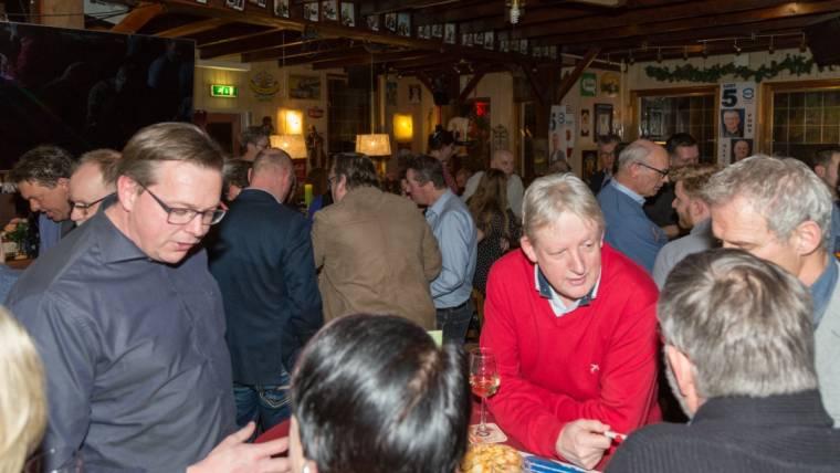 Gezellige bijeenkomst OVRV in Sambeek